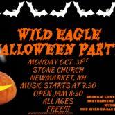 Wild Eagle Halloween Party!